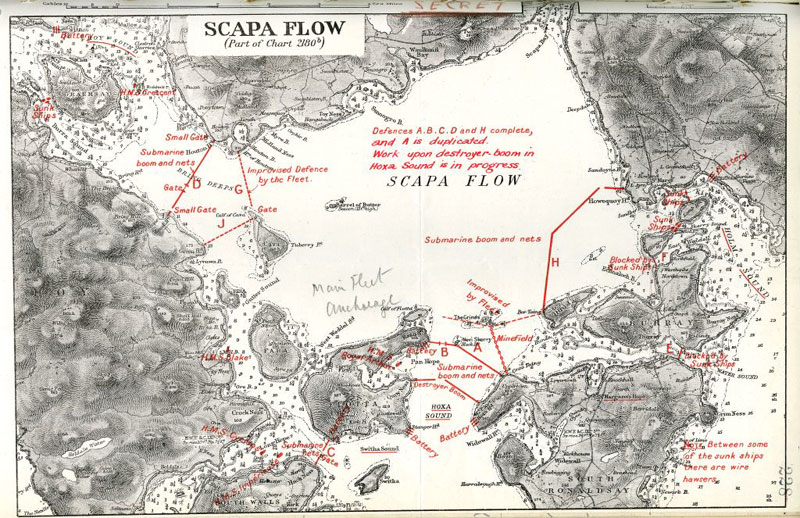 Interactive Map : Scapa Flow Wrecks